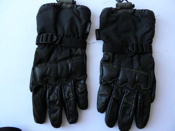 Rękawice motocyklowe POLO roz. M skóra/textylia