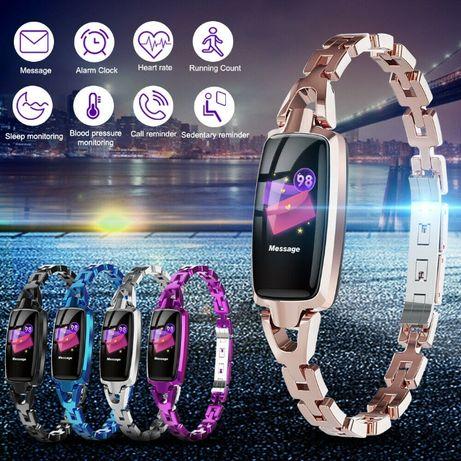 DR66 Women Calories Fitness Tracker Smart Watch