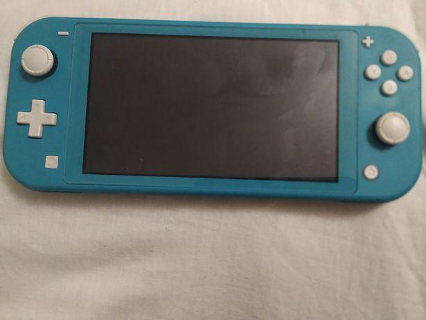 Nintendo switch lite вместе с играми