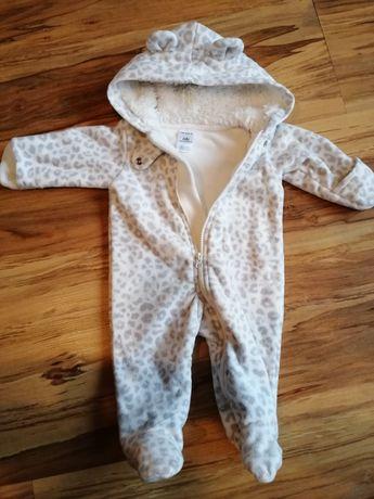 Carters newborn polarowy pajacyk kombinezon