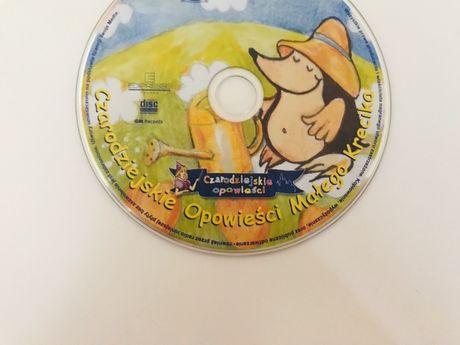 Płyta CD dla dzieci Czarodziejskie opowieści małego Krecika