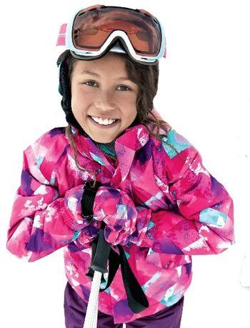 CRIVIT kurtka narciarska dla dziewczynki 146/152cm super stan