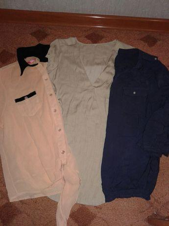 Продам новые женские кофточки,рубашки 3=100грн