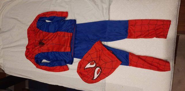 Strój spider man