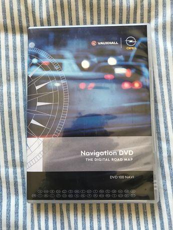 Opel DVD 100 Navi - Mapas e CD de software