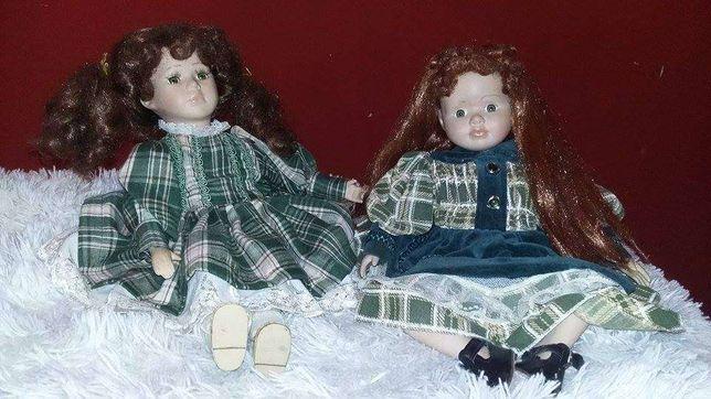 Bonecas de porcelana de colecção