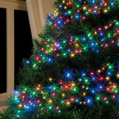 Светодиодная LED гирлянда 10/20/30/50/100м (белый/жёлтый/цветной) 220В