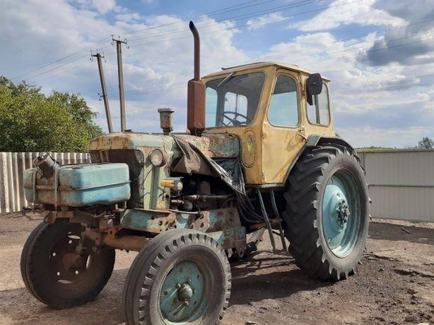 Трактор ЮМЗ 6 з грейдером