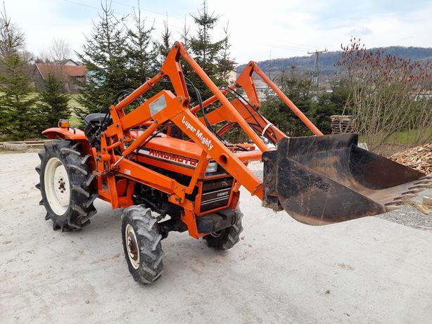 Traktor, traktorek japoński Hinomoto E23 z turem - oryginał