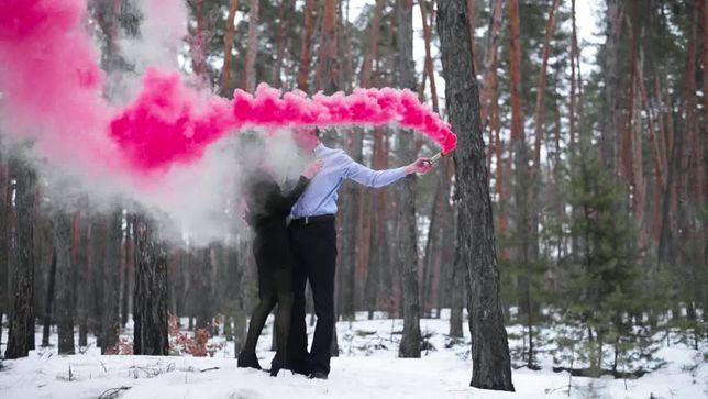 Цветной дым (дымовые шашки)