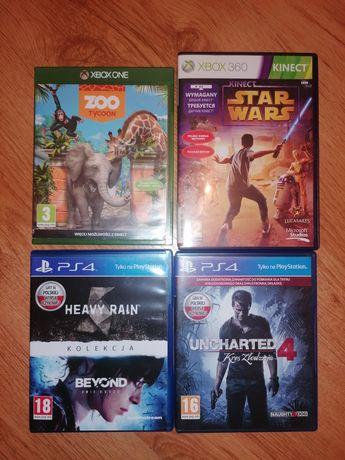 Gry: Zoo Tycoon, Uncharted 4, Star Wars, Heavy Rain, Beyond PL