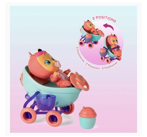 Cry babies игровой набор с коляской