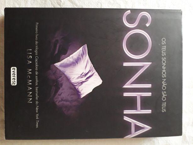 "Livro / Romance ""Sonha"""