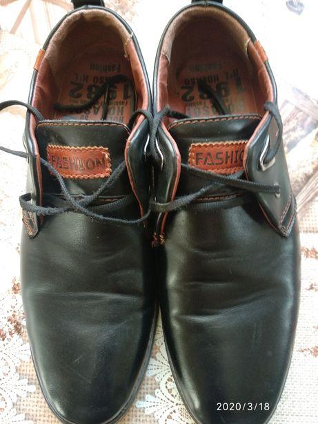 Туфли мужские, подростковые