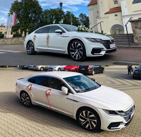 Samochód do ślubu 2 x Volkswagen Arteon R-Line oraz BMW 530e 292 KM