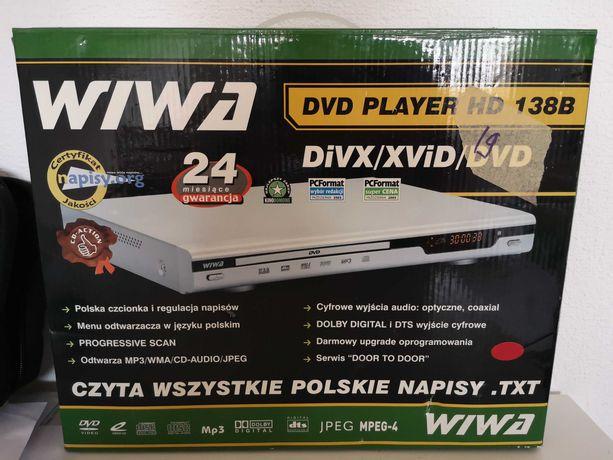 WIWA dvd player HD 138B NOWY