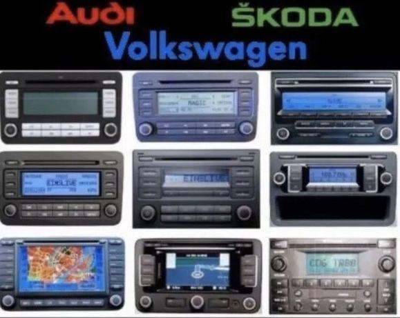 Раскодировка разблокировка код Opel Renault Ford Volkswagen Audi Skoda
