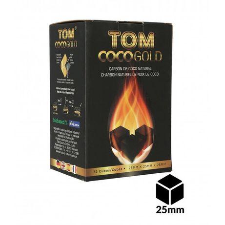 Shisha Narguile Carvão de coco Tom Cocochal Gold