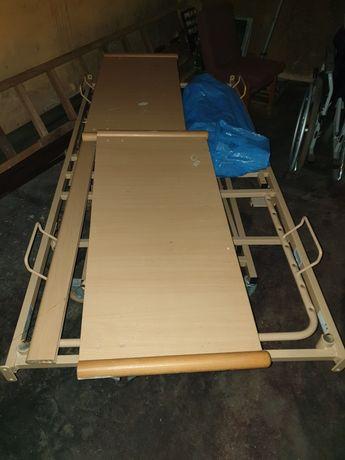 Łóżka rehabilitacyjne ortopedyczne elektryczne