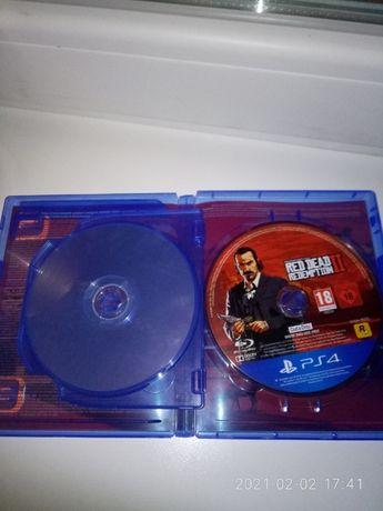 Red Dead Redemption 2. Оригинальный диск для PS4