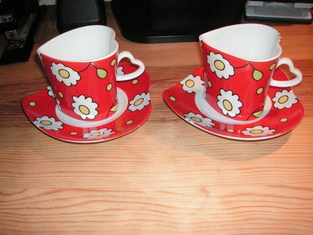 Chávenas de Café e Pires Porcelana Kara Mia (Duas)