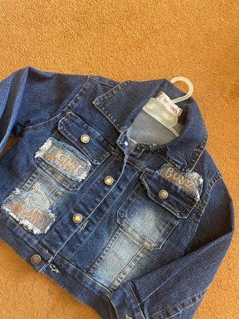 Куртка джинсовая крутая
