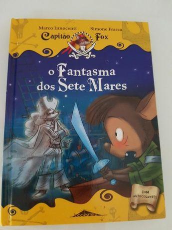 Literatura infantil- Capitão Fox- O fantasma dos sete mares