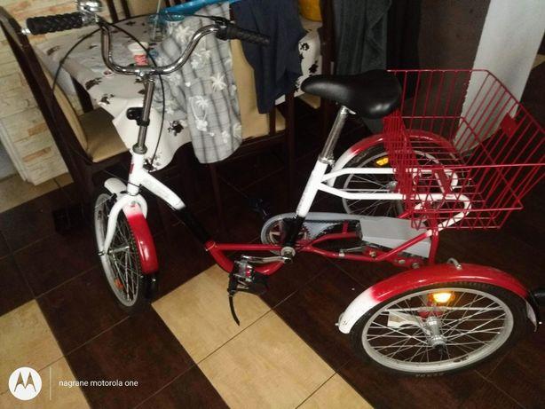 Rower trzy kołowy