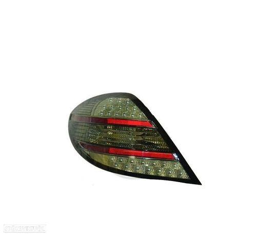 FAROLINS TRASEIRA LED MERCEDES SLK R171 04-11 CROMADO