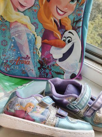 Кроссы кросовки кросівки кроси кеды Анна Ельза Disney, холодное сердце