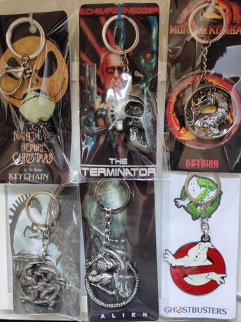 Porta chaves Alien Terminator Jack Nightmare Mortal Kombat Casa Papel