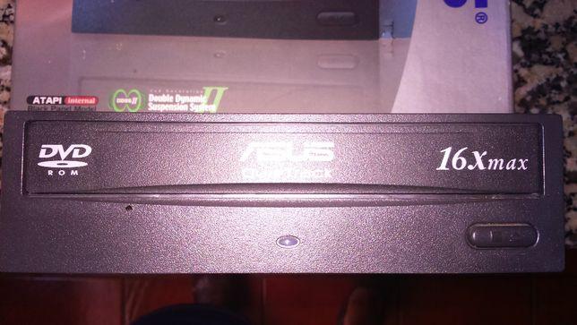 Gaveta DVD de gravação CPU ASUS