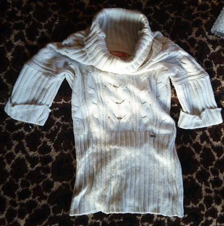 Sweter biały Patrol Girl Zone