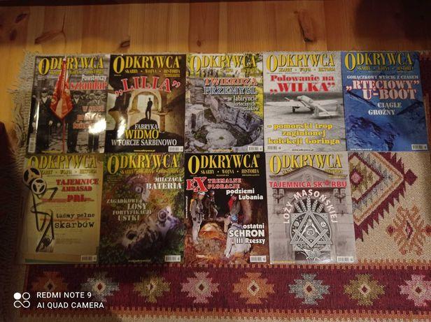 Odkrywca czasopismo 2012