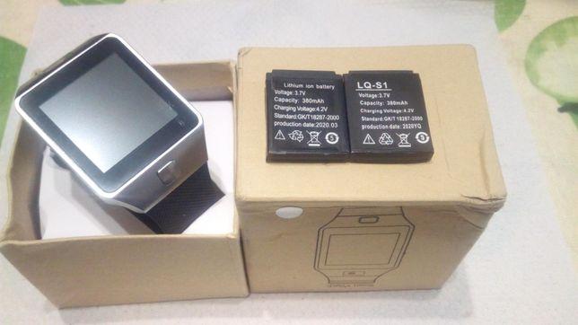 Смарт Часы DZ09 /SC6531+2 аккумулятора