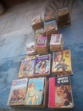 livros de bolso pequenos e medios