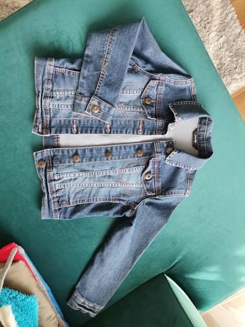 Kurtka katana jeans na wiosnę