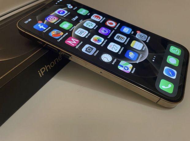 Iphone 12 Pro Max Dourado 128M Desbloqueado com Garantia