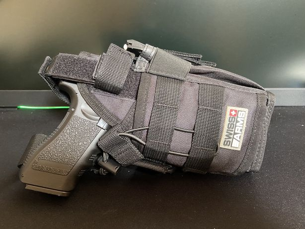 Coldre Pistola Swiss Arms perna airsoft