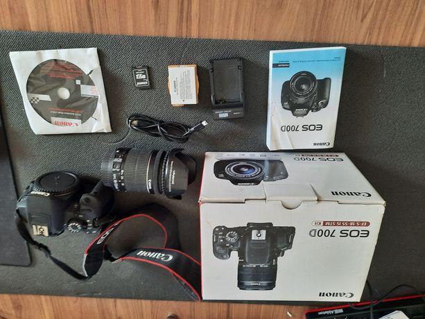 Canon EOS 700D body przebieg 10889