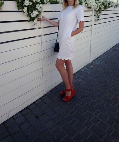 Белое летнее платье cos ,xs