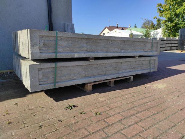 Podmurówka betonowa 30cm, ceownik, skałka, ogrodzenia, panele, montaż