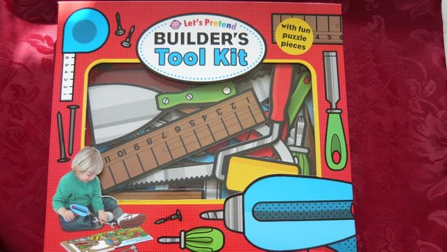 Majsterkowicz builders tool kit - puzzle