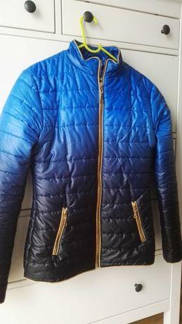 piekna kurtka cieniowana firmy EZE wysylka gratis