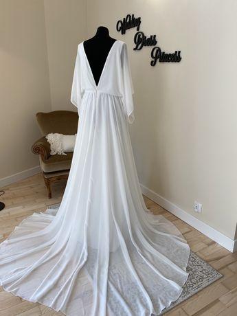Tanio!Boho!Suknia ślubna nowa r 42