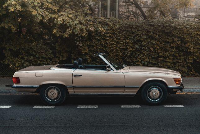 Samochód do ślubu auto na wesele Mercedes zabytkowy retro vintage