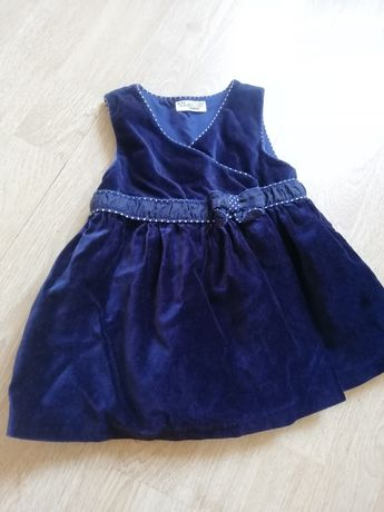 Фирменное нарядное платье Mayoural на рост 74см
