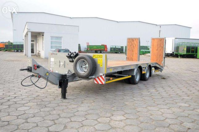 Przyczepa samochodowa PC2300 niskopodwoziowa PRONAR - 13,5 tony