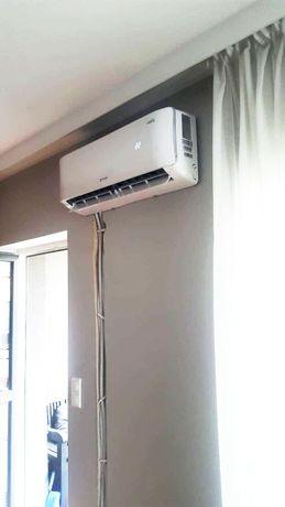Klimatyzacja Rotenso 2,6 kW A++, powietrzna pompa ciepła. Montaż