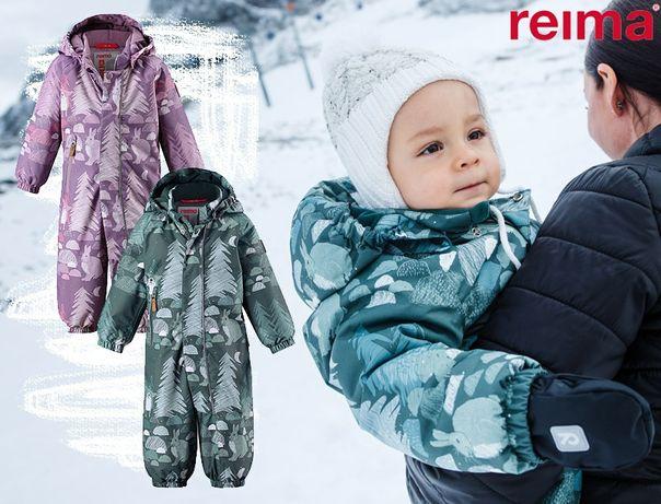 Зимний комбинезон для малышей категории Reimatec®, яркий принт
